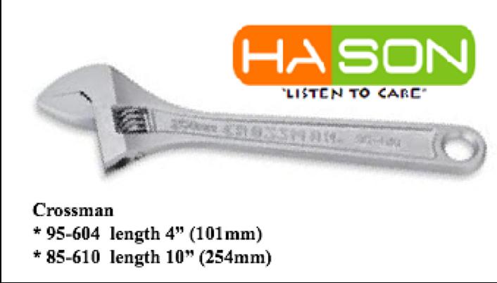 Mỏ lếch răng Crossmann 95-604, Mỏ lếch răng Crossmann 95-610, Crossman adjustable wrench 95-604, crossmann adjustable wrench 95-610, mỏ lếch 4