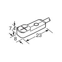 proximity sensor GX-F8A, cảm biến tiệm cận Panasonic, Cảm biến Panasonic GX-F8A, Rectangular-shaped inductie proximity sensor FX-G8A
