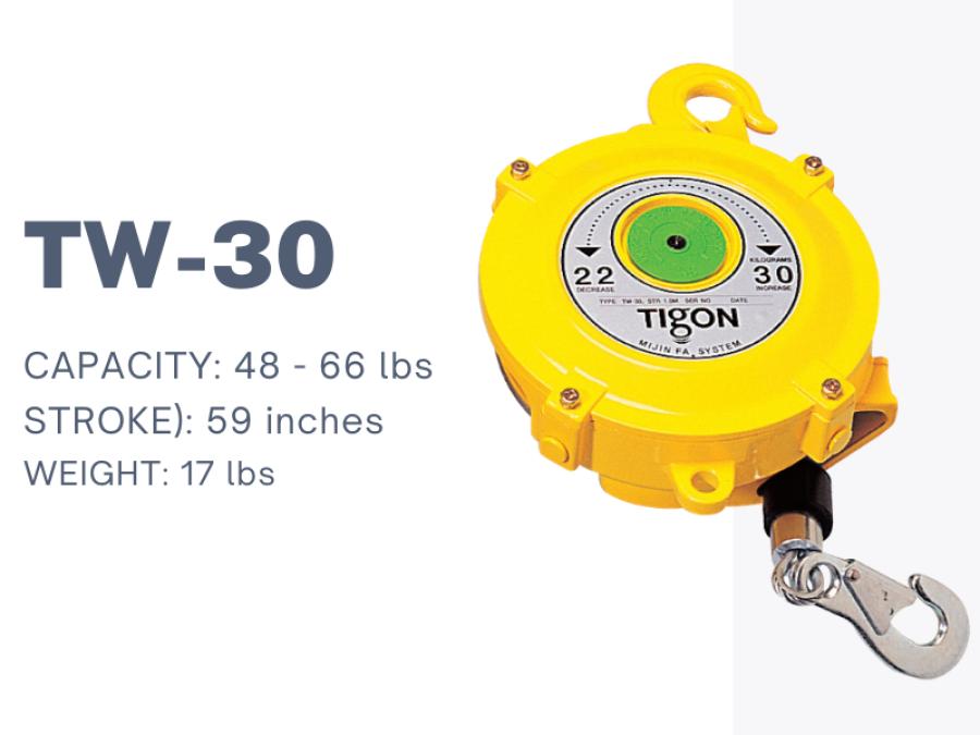 TIGON- pa lăng cân bằng TW-30, Nitto Tigon Spring balancer TW-30