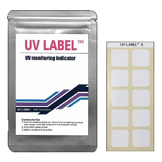 UV LABEL™, UV indicator label, Nhãn chỉ thị UV, Tem hiển thị UV. Giấy thử tia UV, giấy thử tia cực tím