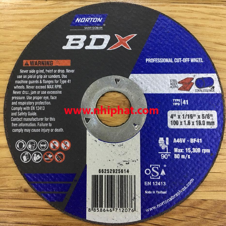 Đá cắt  Norton BDX - Thái Lan