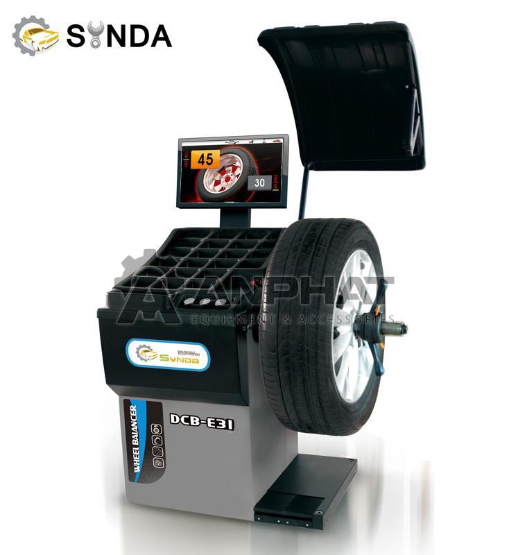 Máy cân bằng động lốp xe Synda DCB-E31