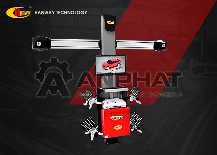 Máy cân chỉnh góc đặt bánh xe ô tô Hanway HWA-V08