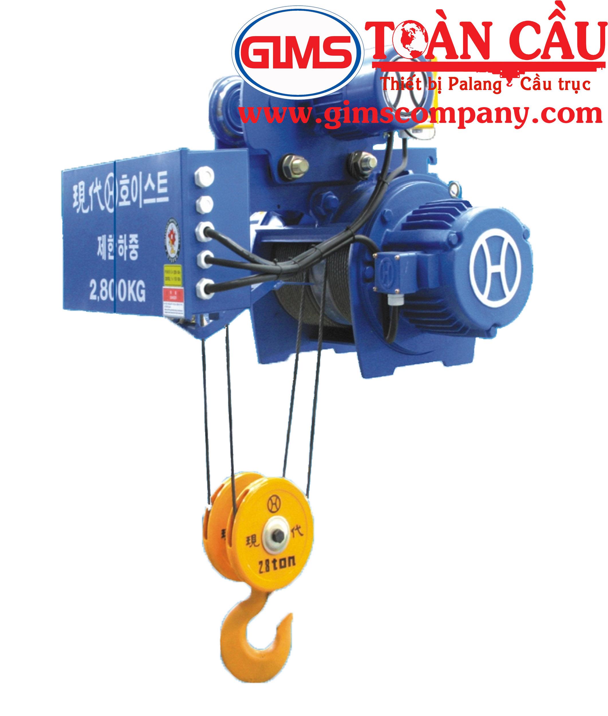Palanng cáp điện Hyundai