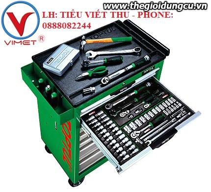 Tủ đồ nghề 7 ngăn 163 chi tiết GT-16311 Toptul