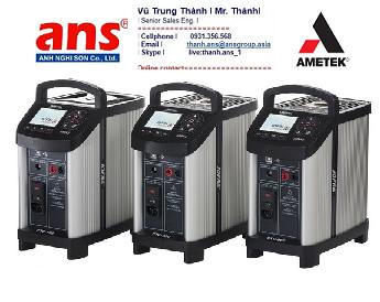 Bộ lấy chuẩn nhiệt độ nhỏ gọn Ametek Vietnam dòng CTC