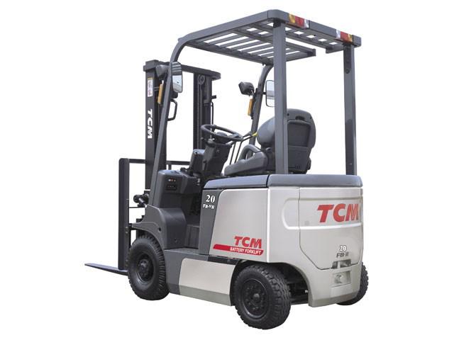 Xe nâng điện 2 tấn hiệu TCM giá cạnh tranh