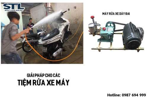 Kinh nghiệm hữu ích khi mở tiệm rửa xe ô tô xe máy