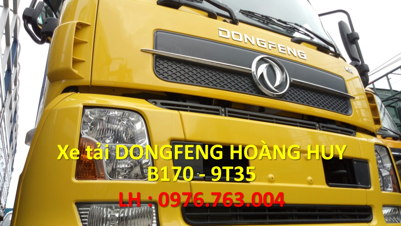 bán xe tải dongfeng b170- dongfeng 9 tấn 3 - dongfeng hoàng huy 9T3 nhập khẩu nguyên chiếc .