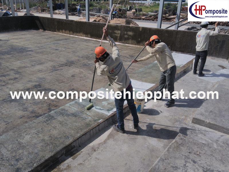 Bọc phủ FRP cho nền bê tông