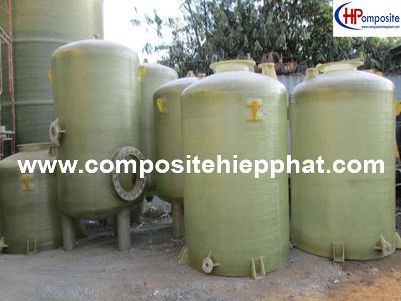 Bồn nhựa FRP xử lý nước thải