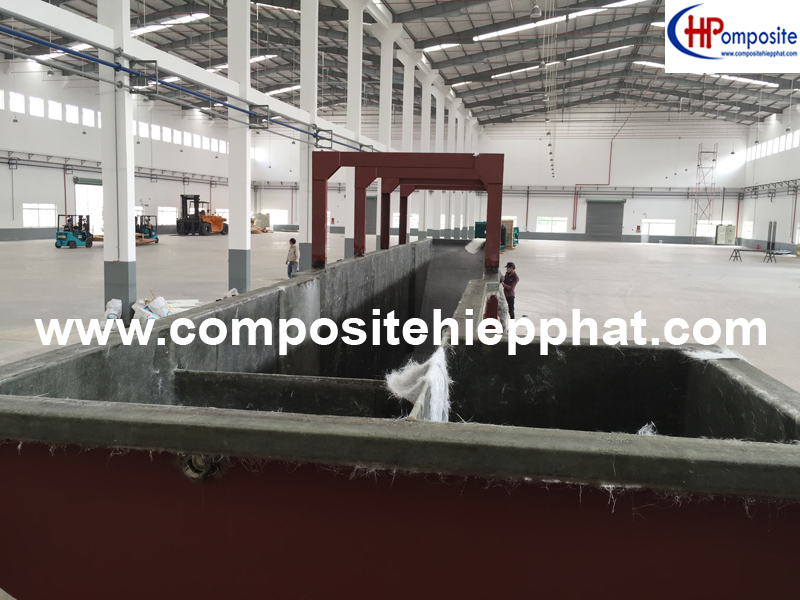 Phủ nhựa composite FRP