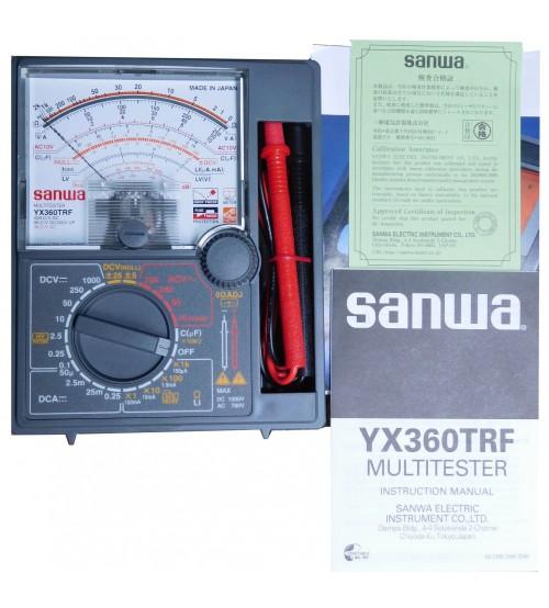 ĐỒNG HỒ ĐO ĐIỆN SANWA CD800A, YX360TRF