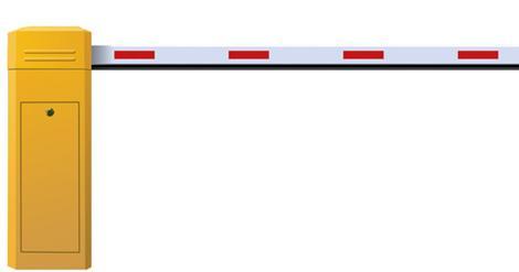 Cần gạt barie tự động, Cổng xếp hợp kim nhôm - 0913183440