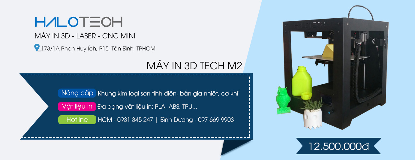 Máy in 3D Tech M2