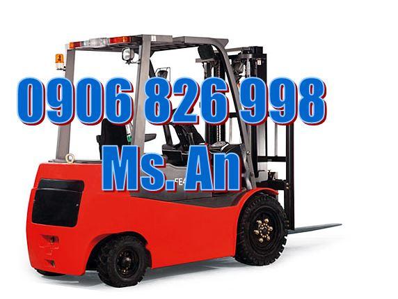 Xe nâng điện ngồi lái 3000kg - 4000mm