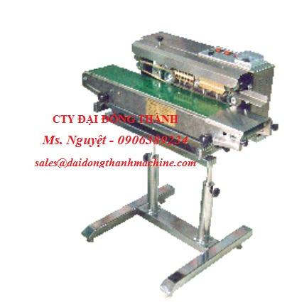 Máy hàn miệng túi liên tục băng tải chạy tự động tại Cần Thơ, Đà Nẵng, Bình Định