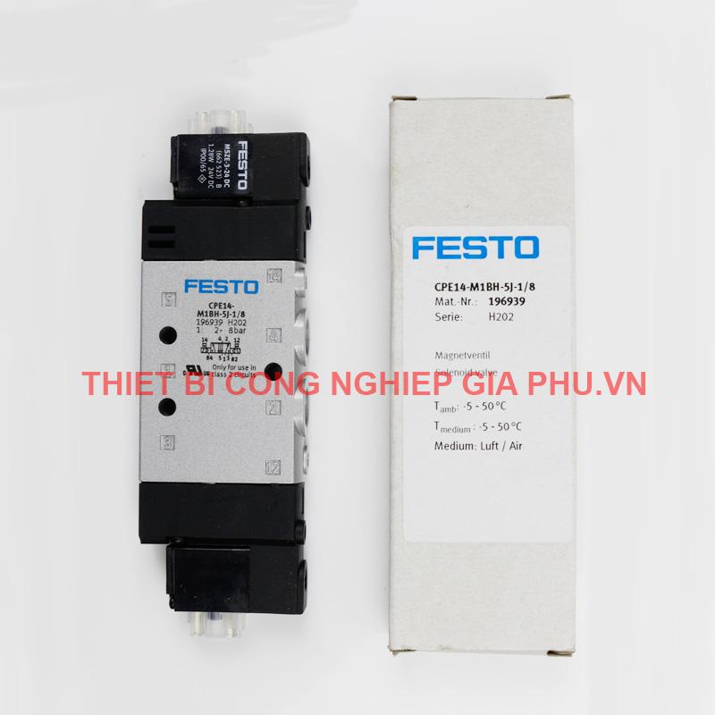 Van Festo CPE18-M1H-5J-1/4 163143