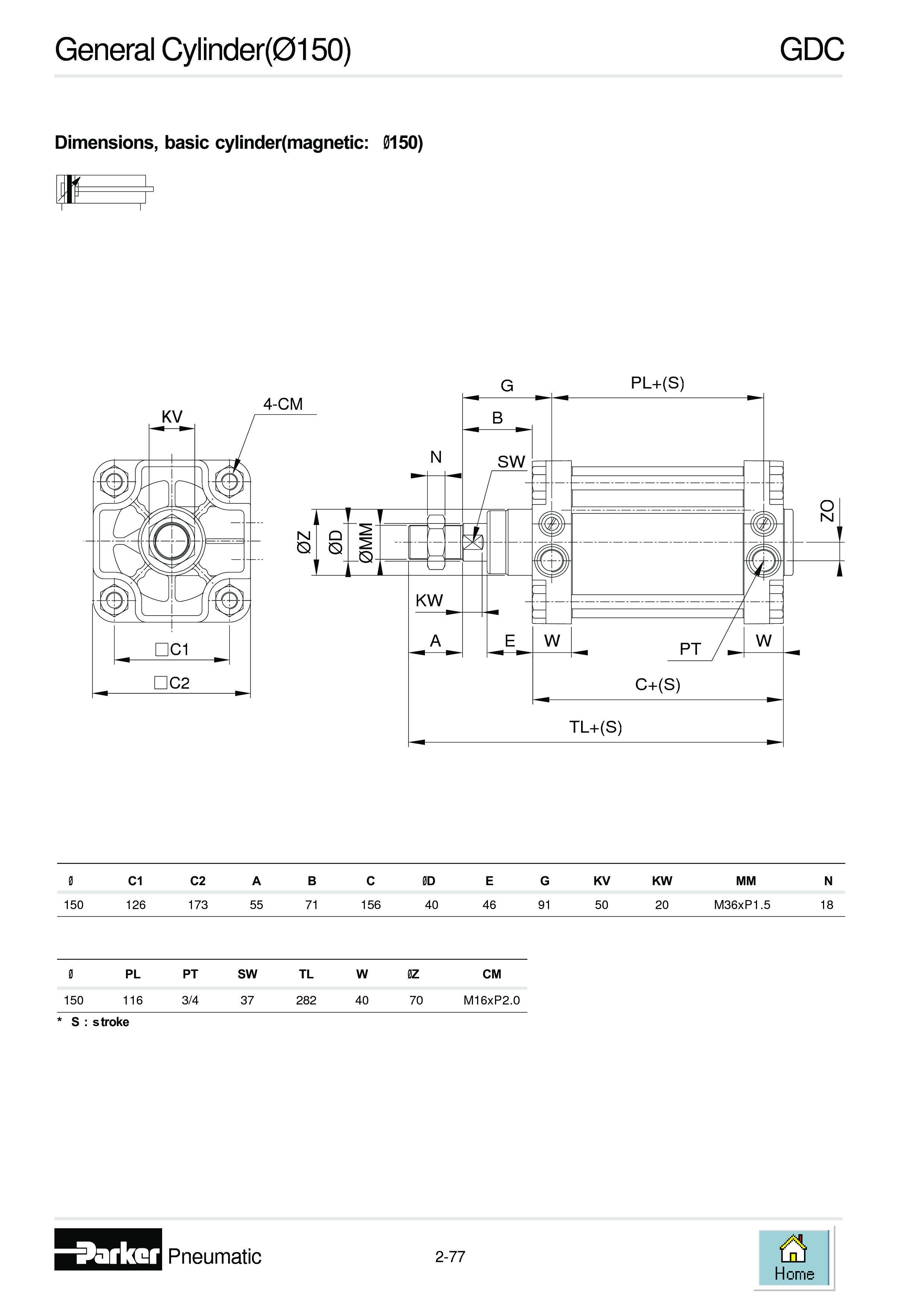 Xi lanh  GDC150X600... hàng luôn có sẵn sll