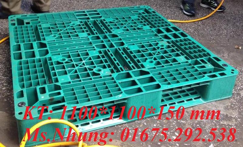 Cung cấp pallet nhựa cho kê hàng LH 01675292538