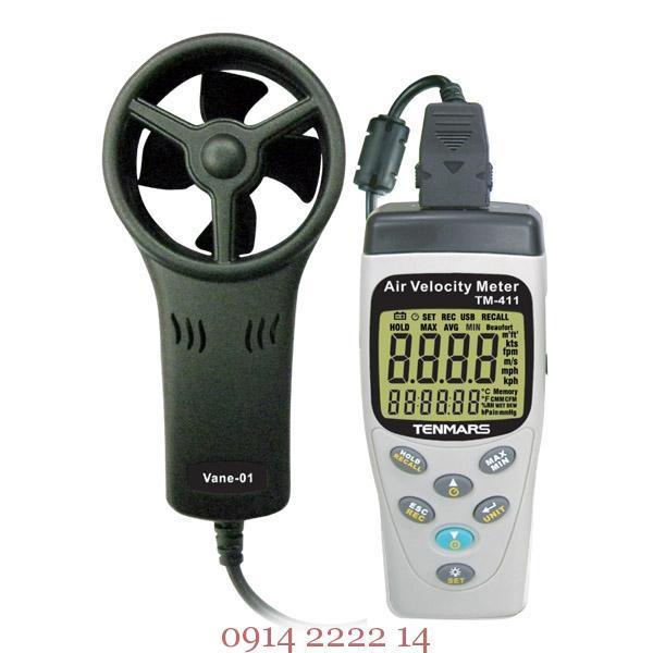 Máy đo tốc độ gió Tenmars, nguyên lý và cách đo gió