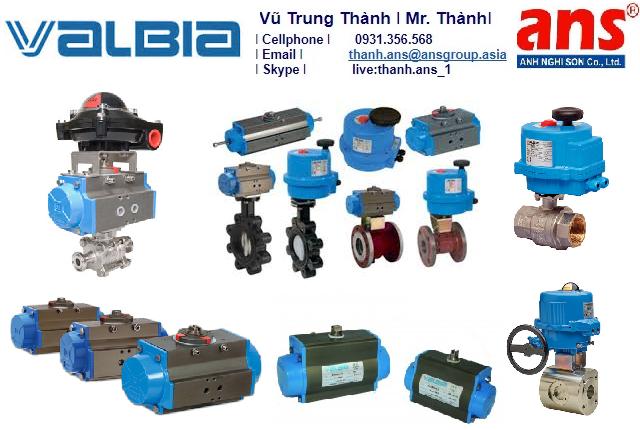 Van công nghiệp Valbia Vietnam