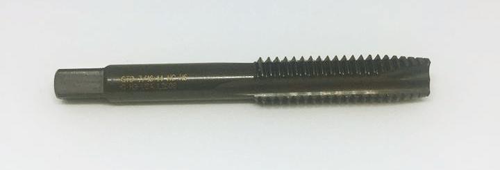 Taro thẳng hệ inch, M7/16-14 NC, Taro lỗ thông, Phủ SH50 Oxide