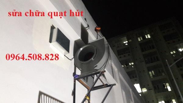 Sửa quạt hút mùi sửa quạt thông gió công nghiệp