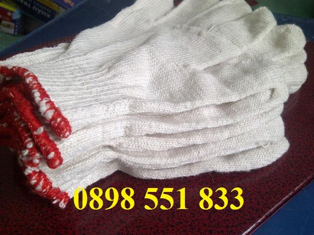găng tay sợi, găng tay phòng sạch, Găng tay sợi 10kim 50g
