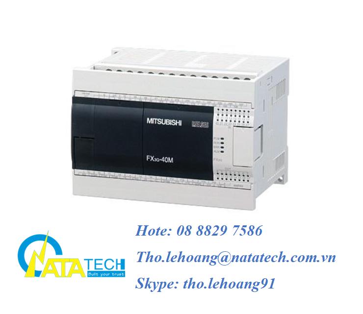 PLC Mitsubishi FX3G-40MT/DS giá tốt - Công Ty TNHH Natatech