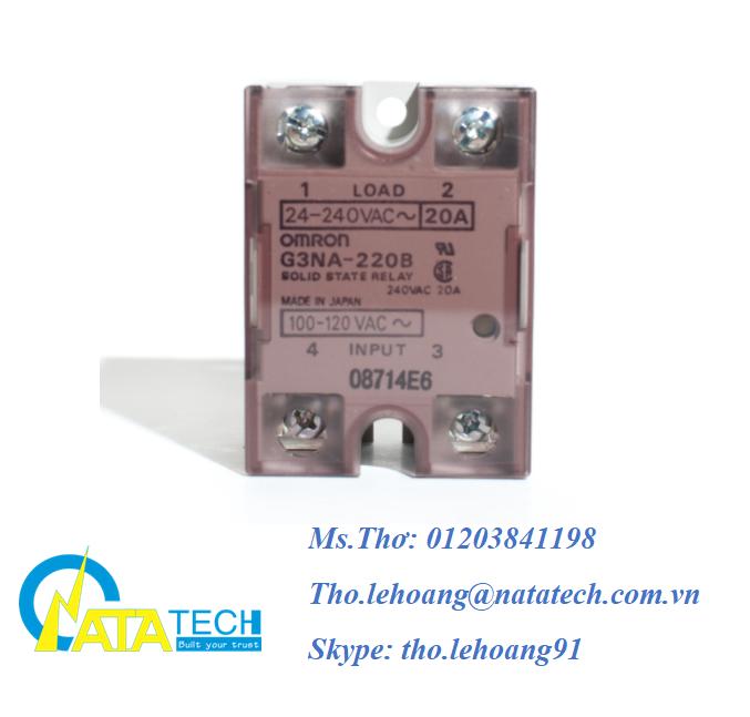 Rờ le bán dẫn Omron G3NA-220B - Công Ty TNHH Natatech
