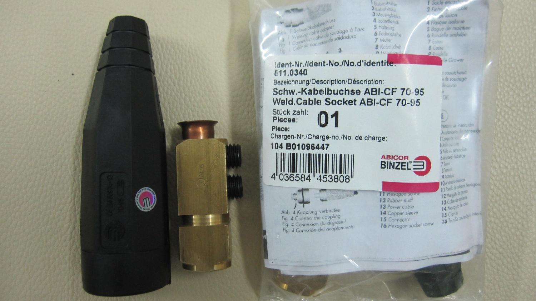 Khớp nối nhanh cáp hàn 70-95 (500A)