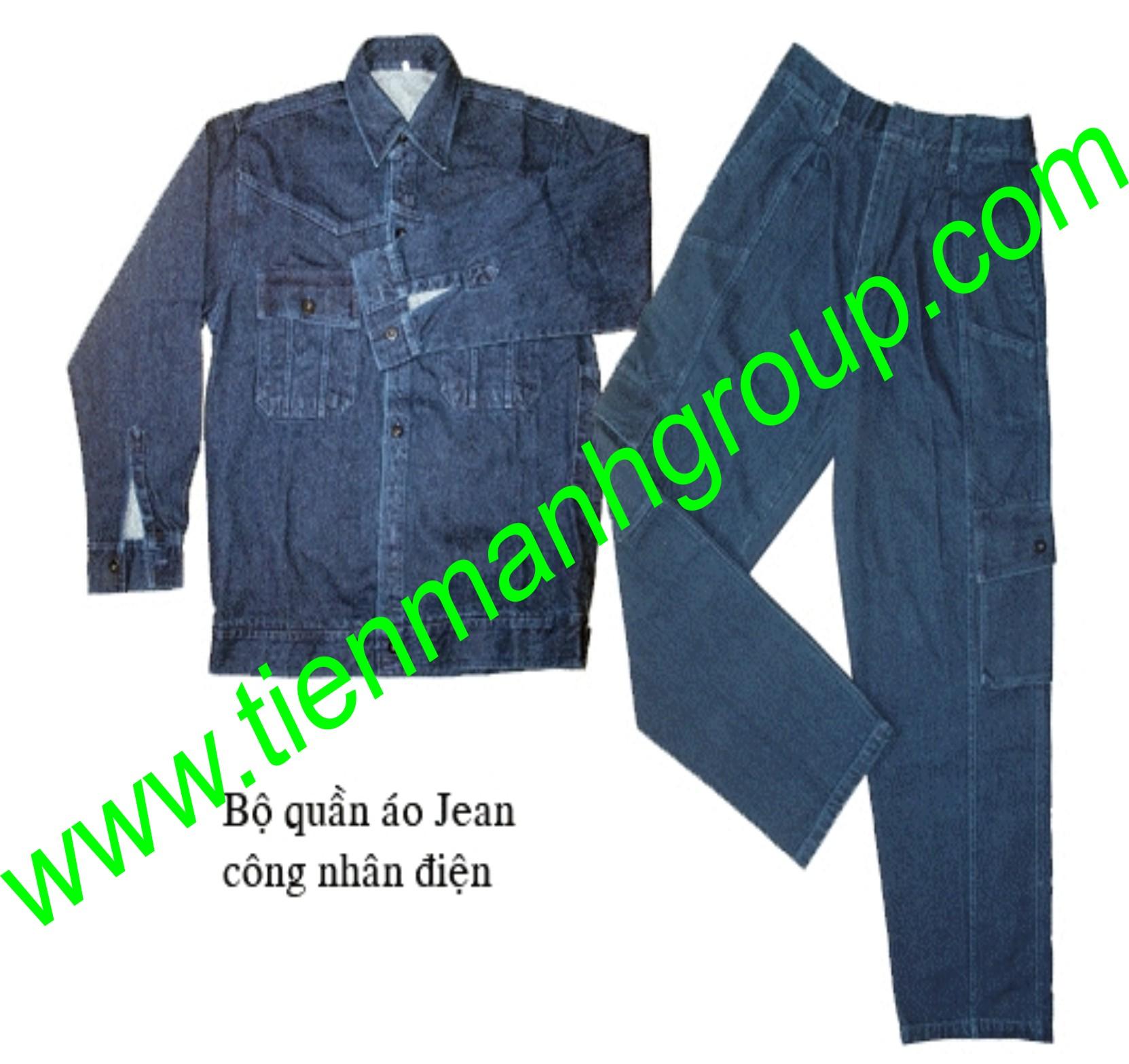 quần áo jeans điện lực