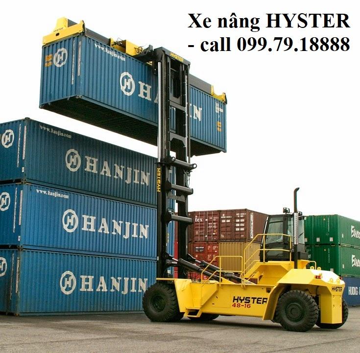 Xe nâng hàng HYSTER Diesel / LPG 1.5 - 3.5 tấn