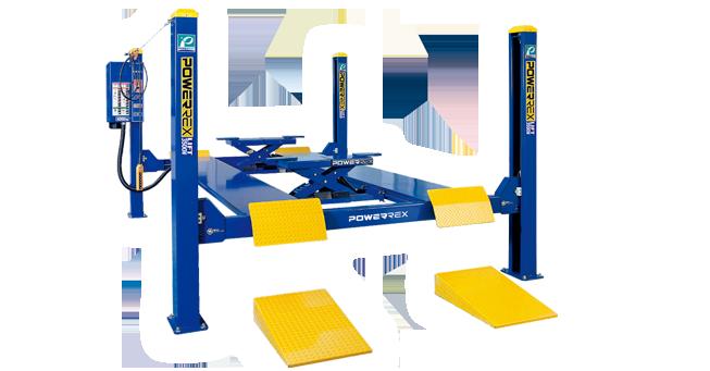 Cầu nâng 4 trụ Powerrex SL-3500W
