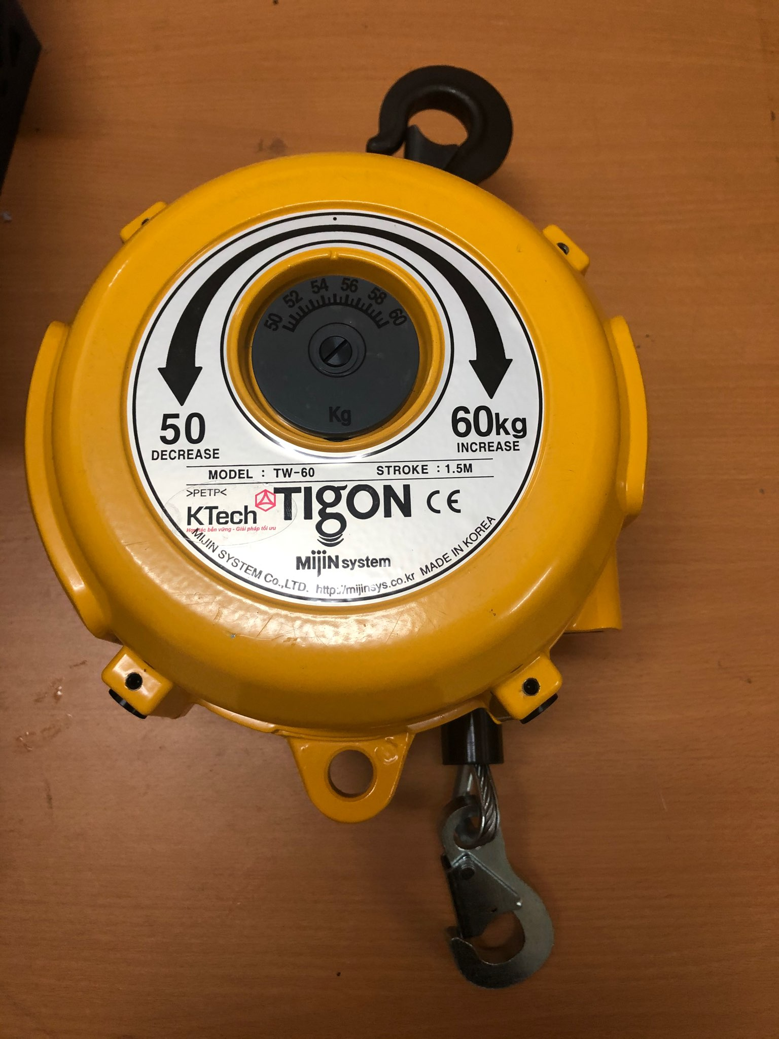 Pa lăng cân bằng Tigon TW60