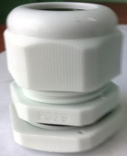 Xiết cáp nhựa PG29, có ron cao su