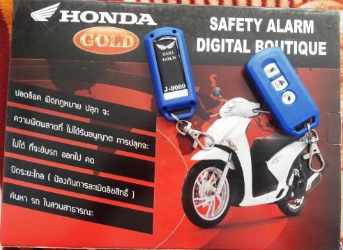 Khóa remote honda gold-saki-j9000 thái lan bảo hành 2 năm