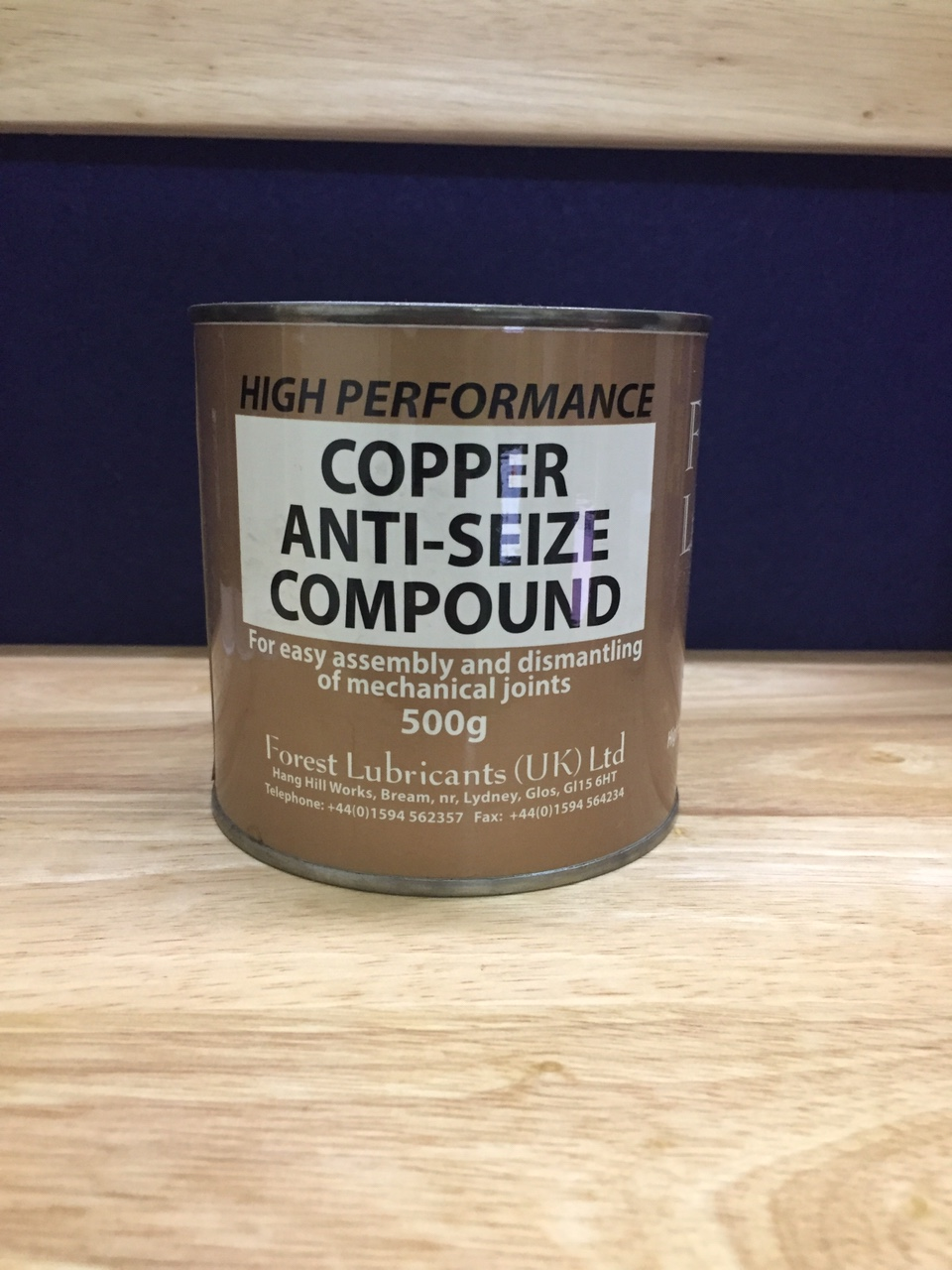 Copper anti seize compound 500g