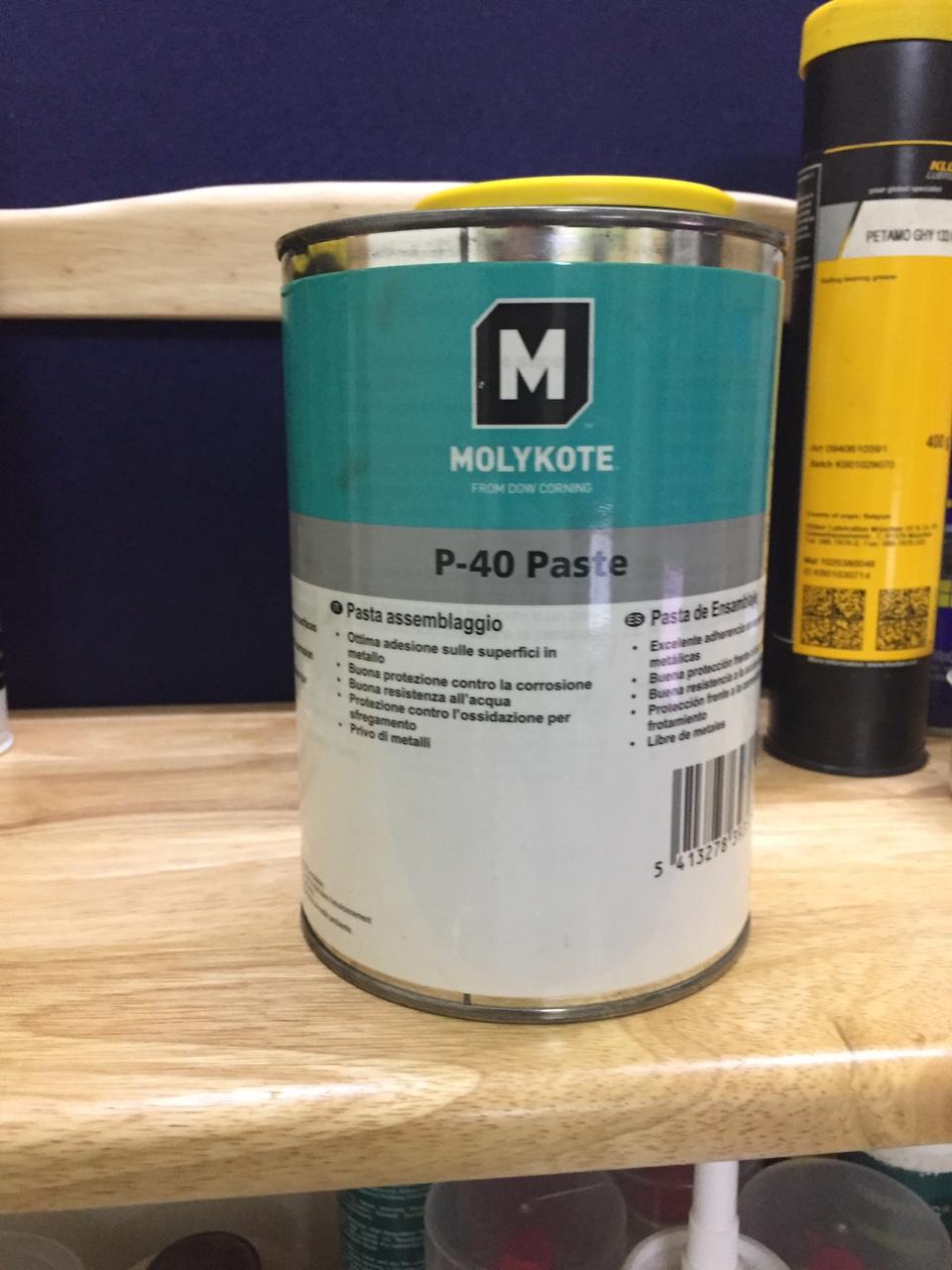 Mỡ bôi trơn Molykote P-40 Paste 1kg