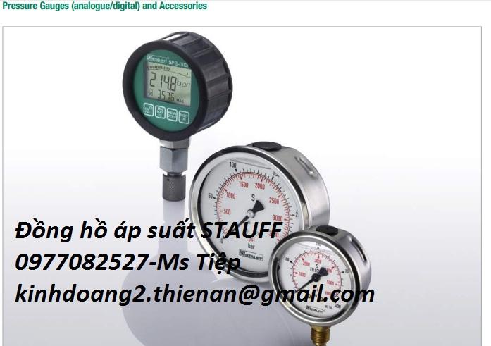 Đồng hồ đo áp suất Stauff Đức