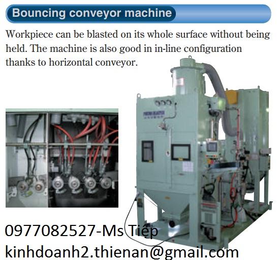 Máy đánh bóng fuji Bouncing converycrer machine
