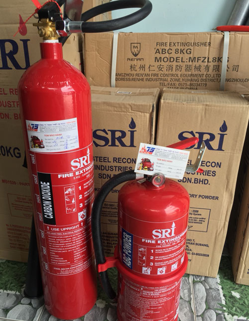 Bình chữa cháy ABC, EED 4kg- Eversafe