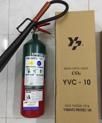 Bình chữa cháy CO2 4.6kg Yamato YVC-10 C