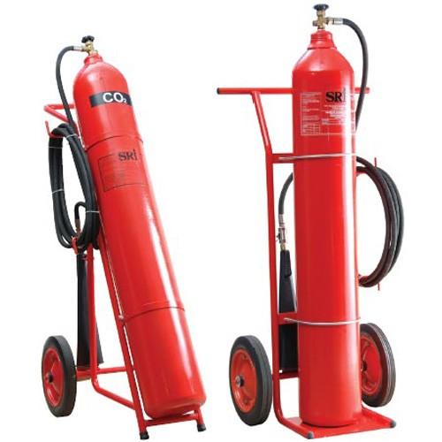 Bình chữa cháy xe đẩy khí CO2- MT24kg- China