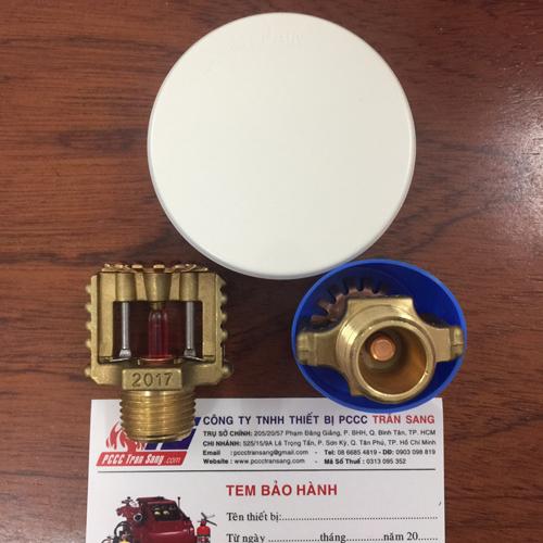Đầu phun sprinkler Âm Trần DN15, K=5.6US, 68oC- PS003