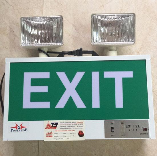 Đèn sự cố 2 trong 1( Exit 2E)