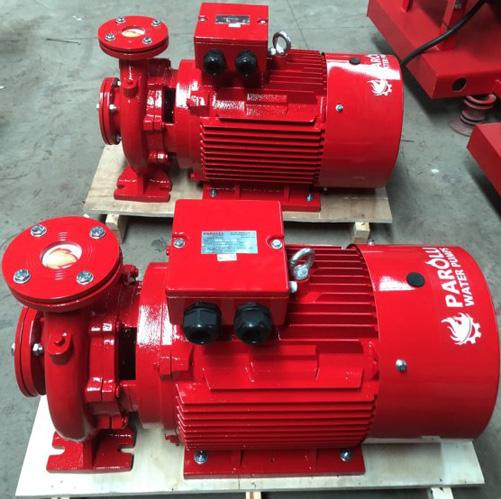 Máy bơm chữa cháy điện Parolli PS 80-500/550