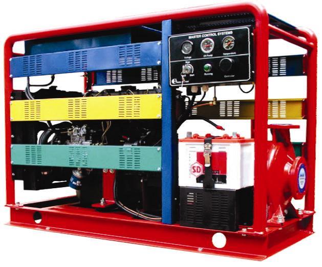 Máy bơm chữa cháy Diesel CA100-250B           Công suất : 75Kw/100Hp