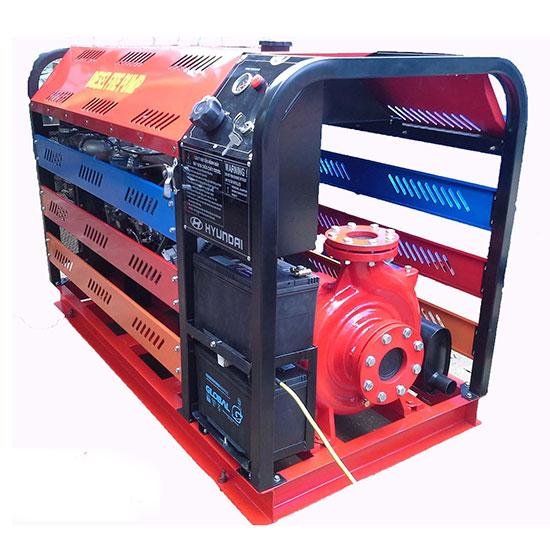 Máy bơm chữa cháy Diesel CA100/80FSJCA       Công suất : 45Kw/60Hp